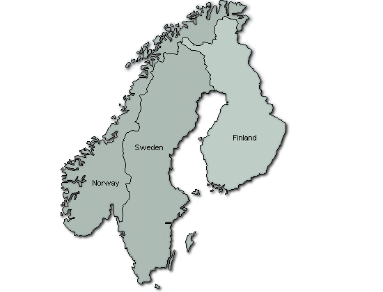 skandinavien karta Utö   Karta skandinavien karta